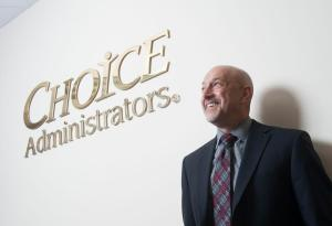 Ron Goldstein, CEO of heath exchange company: Choice Administrators at their office in Orange. ///ADDITIONAL INFO:    RonGoldstein.METRO.0424.kjs  ---  Photo by KEVIN SULLIVAN / Orange County Register  --  4/14/15 The story is about Ron Goldstein, the CEO of heath exchange company: Choice Administrators. Photographed at their company headquarters in Orange, Ca. 4/14/15
